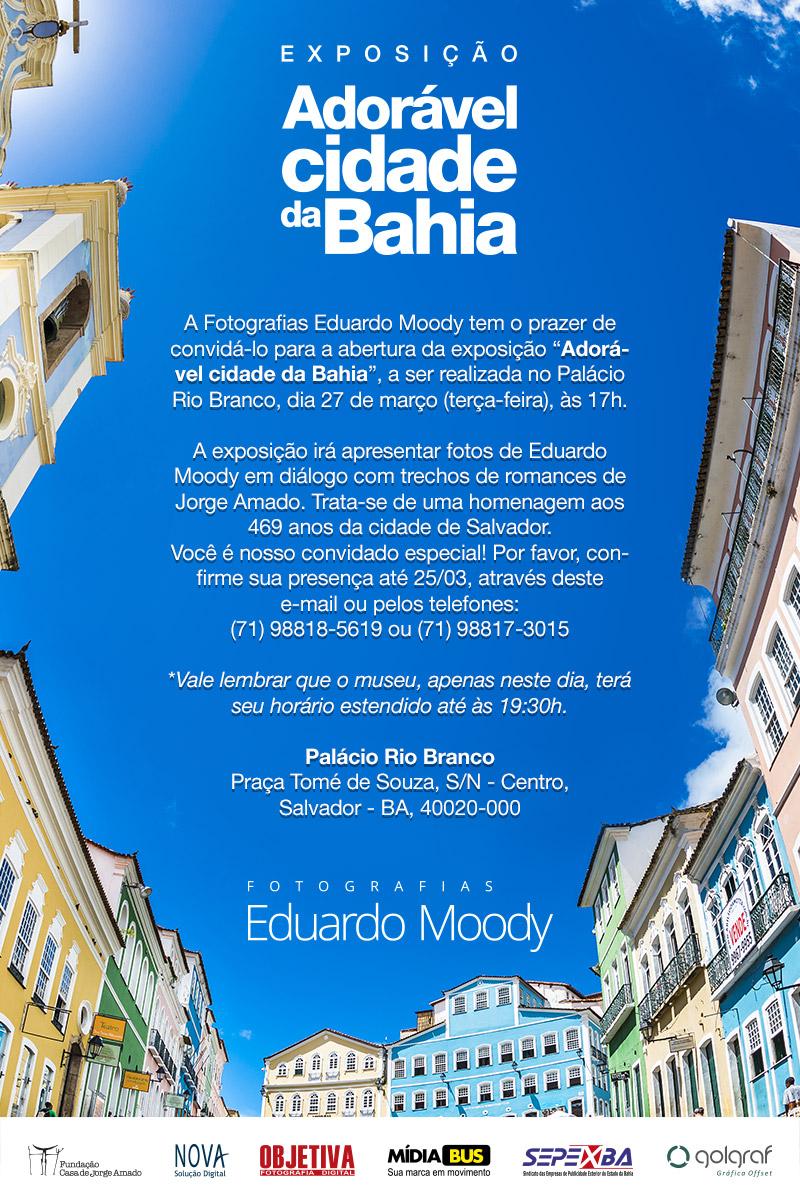Convite exposicao cidade da bahia